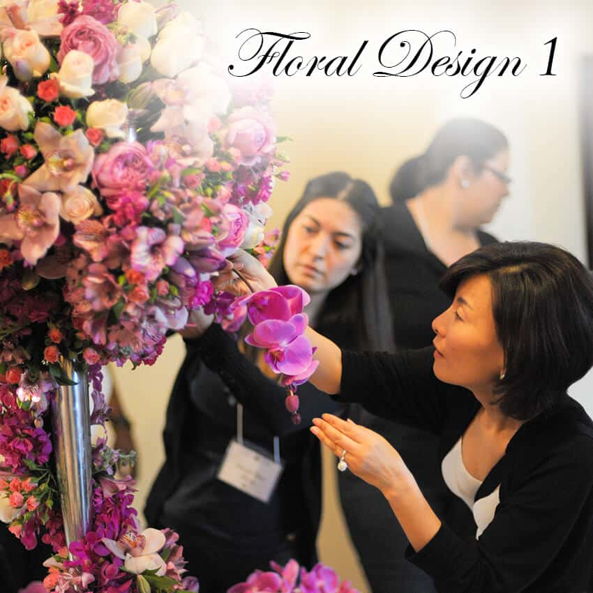 Floral Design 1 Wedding Planning Institute