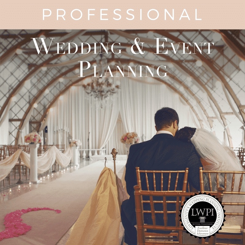 Wedding Planner Certification