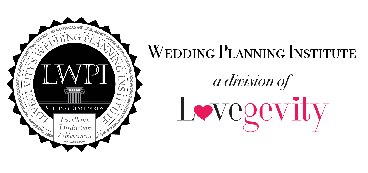 about lovegevity 39 s wedding planning institute
