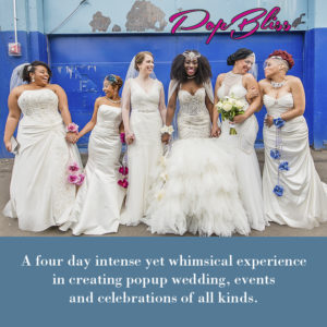 Pop Bliss Pop Up Weddings