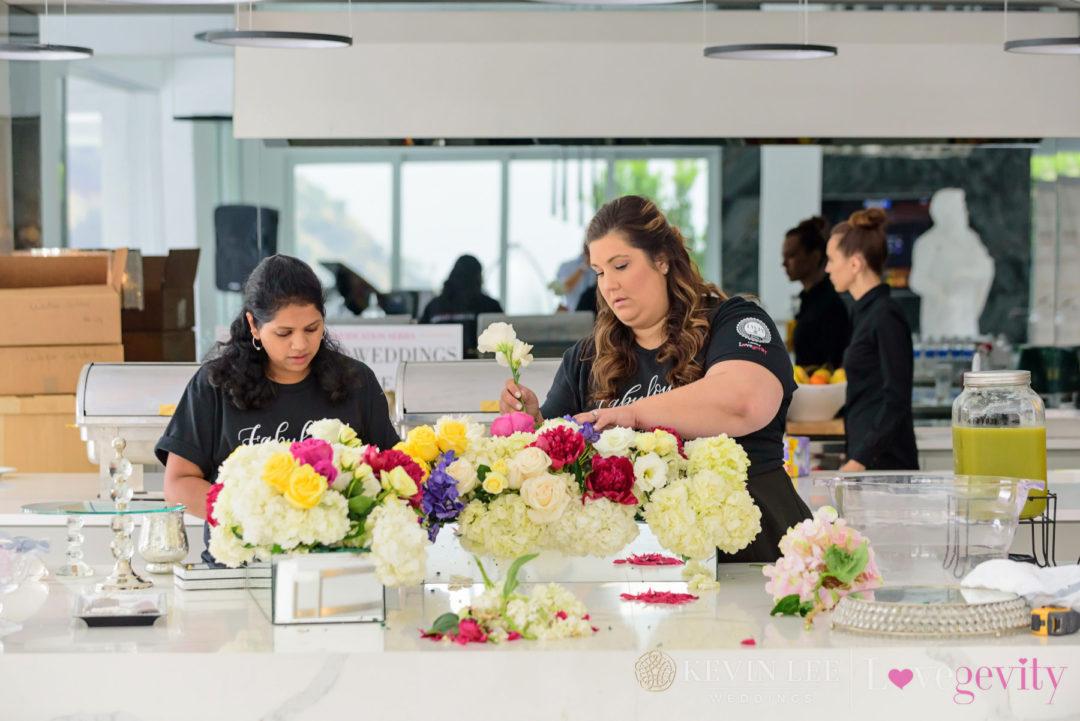 Nicole Vecchioni floral centerpiece
