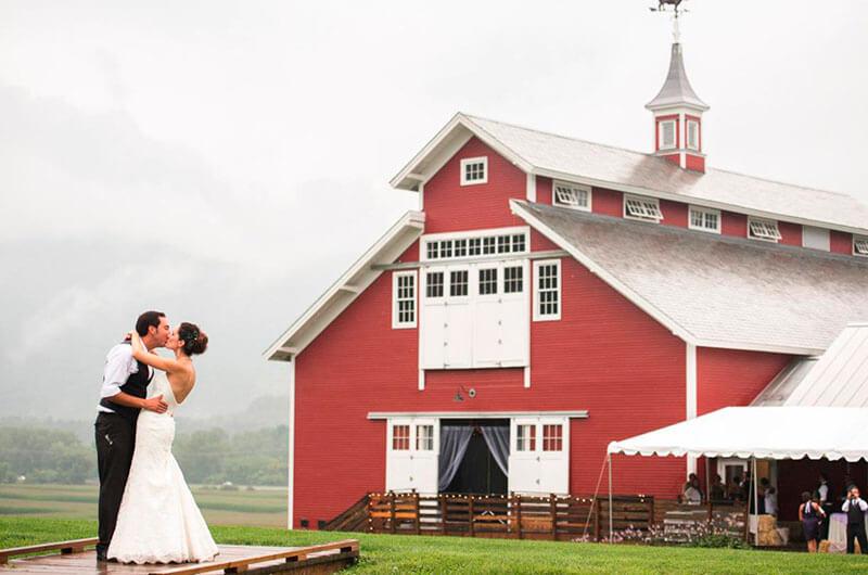 Los 10 mejores destinos rústicos para bodas